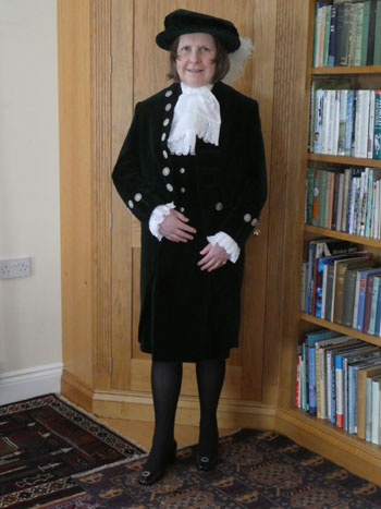 Catherine Penny the High Sheriff of Lancashire 2020 - 2021